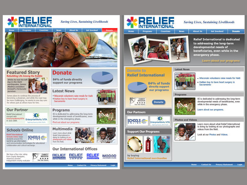 Design for Non-Profit